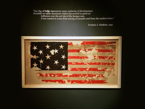 American Flag Collection at the Customs House Museum
