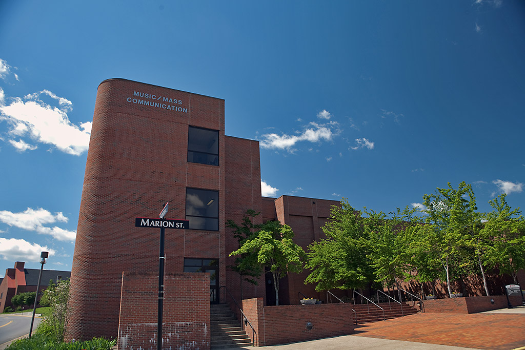 Austin Peay State University's Music / Mass Communication Building. (APSU)