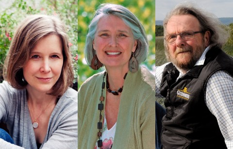 Authors (L to R) Ann Patchett, Louise Penny and Patrick Taylor are must reads for 2016.