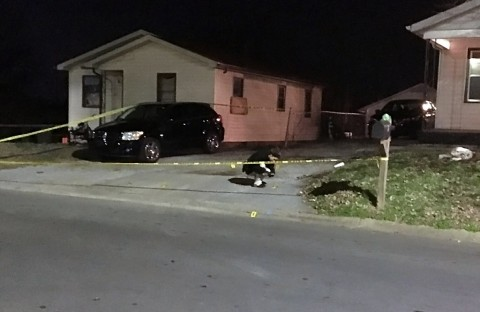 Clarksville Police respond to shots fired on the 600 Block of 9th Street.