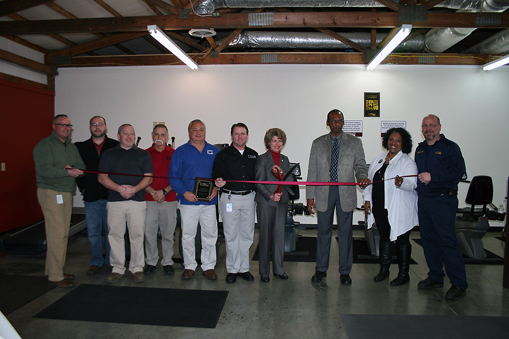 Clarksville Transit System Fitness Center officially opens.