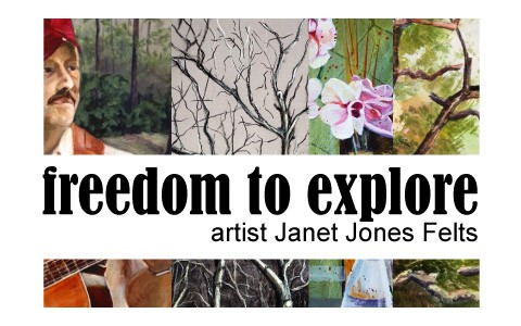 Clarksville artist Janet Jones Felts to exhibit at Downtown Artist Co-op Gallery throughout the month of January.
