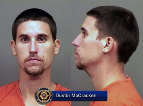 Clarksville Police are still looking for Dustin Robert McCracken in connection to the shooting.