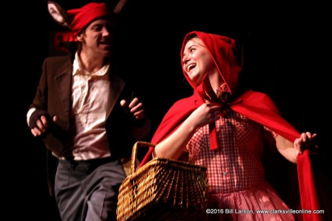 "The Roxy Regional Theatre brings ""Little Red Riding Hood and Friends"" to the stage this Saturday, January 23rd, 2016."