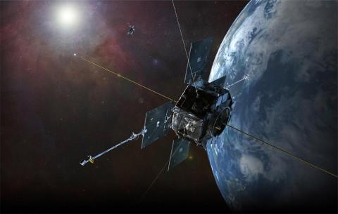 NASA's Van Allen Probes artist concept. (NASA)