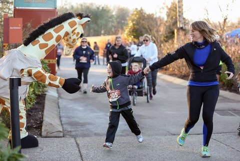 Nashville Zoo Run Run 5K. (Amiee Stubbs)