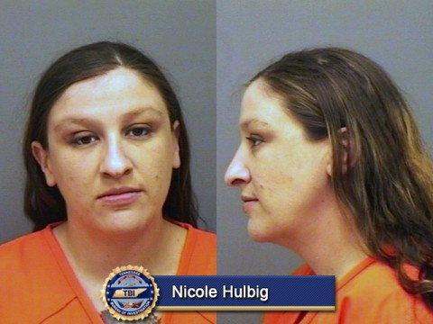 Nicole Hulbig arrested today for Theft.
