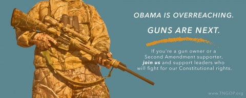 Obama is overreaching - Guns are Next