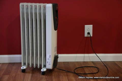 Portable heaters can be an efficient way to supplement inadequate heating.