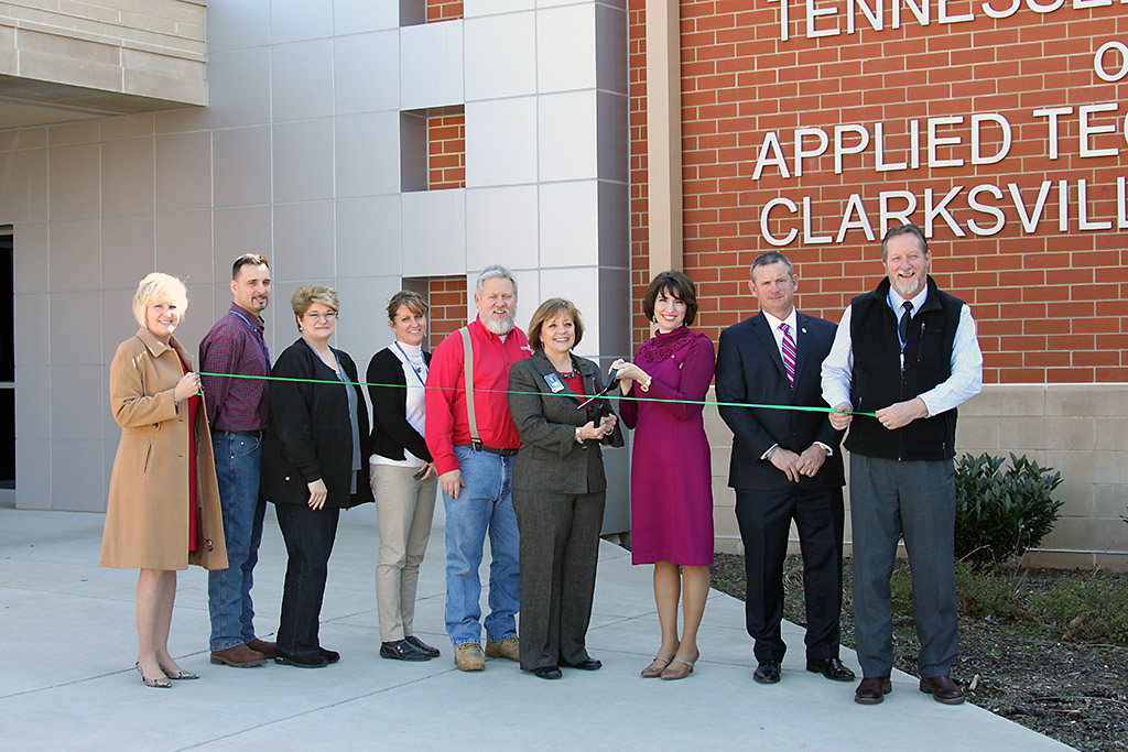 Tennessee College of Applied Technology Green Ribbon Cutting Ceremony.
