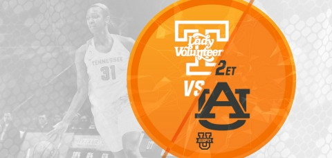 The #12/11 UT Lady Vols (10-4, 1-1 SEC) play host to Auburn Tigers (11-4, 1-1 SEC) at 2:01pm ET Sunday (ESPNU), looking for their second SEC win of the year. (UT Athletics Department)