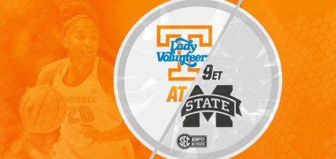 Tennessee Women's Basketball on the road Thursday to face Mississippi State. (UT Athletics Department)