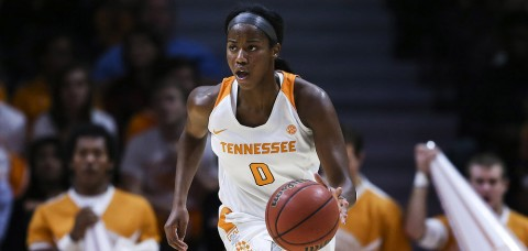 Tennessee Womens Basketball junior Jordan Reynolds has first career double-double with 15 points and 11 rebounds in loss at Mississippi State Thursday night. (Donald Page/Tennessee Athletics)