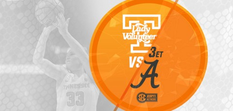 Tennessee Women's Basketball faces Alabama at Thompson-Boling Arena Sunday afternoon. (UT Athletics Department)