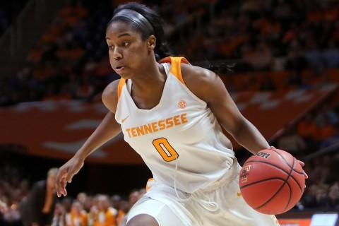 Tennessee Lady Volunteers guard Jordan Reynolds (0). (Randy Sartin-USA TODAY Sports)