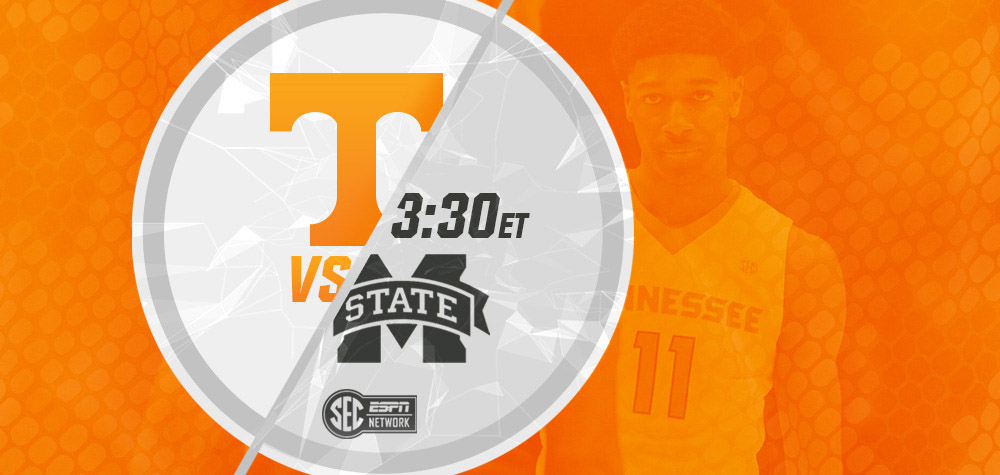 Tennessee Men's Basketball makes its lone trip of the season to the Magnolia State to face the Mississippi State Bulldogs. (UT Athletics Department)