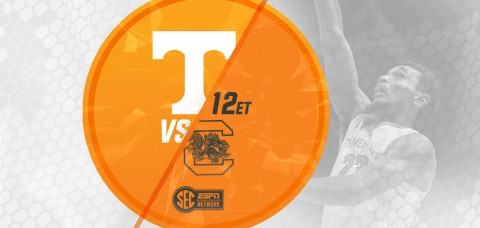 Tenneseee Volunteers host #24 South Carolina, Saturday at Thompson-Boling Arena. (UT Athletics Department)