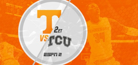 The Tennessee Volunteers and TCI Horned Frogs meet on ESPN2 as part of the Big 12/SEC Challenge Thursday, January 30th. (UT Athletics Department)