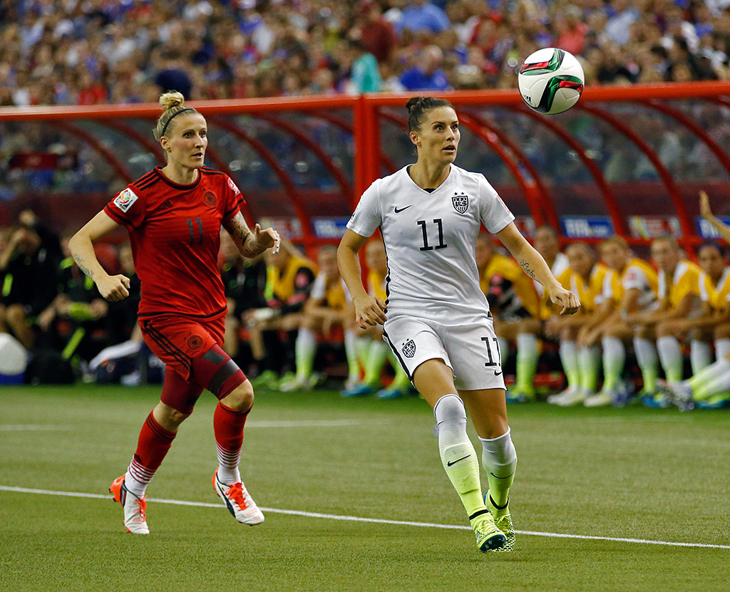 U.S. Women's Soccer comes to Nashville Tennessee March 6th. (Michael Chow-USA TODAY Sports)