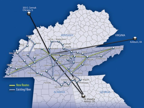 iRis Networks adds new fiber routes in Tennessee.