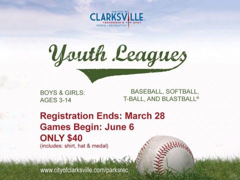 2016 Clarksville Parks and Recreation's Youth Recreation Leagues