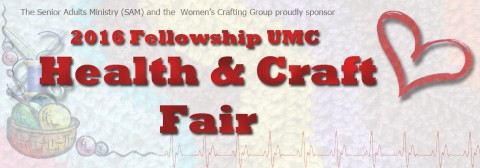 2016 Fellowship United Methodist Health and Craft Fair