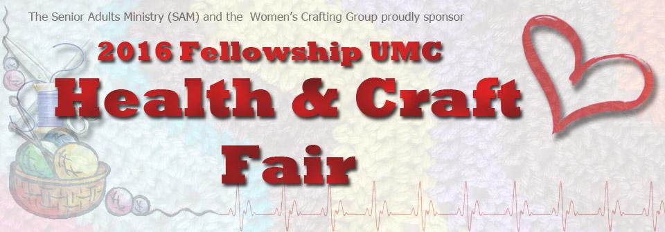 2016 Fellowship United Methodist Health and Craft Fair