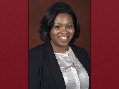 Ashlee Spearman, Director of APSU's Quality Enhancement Plan.