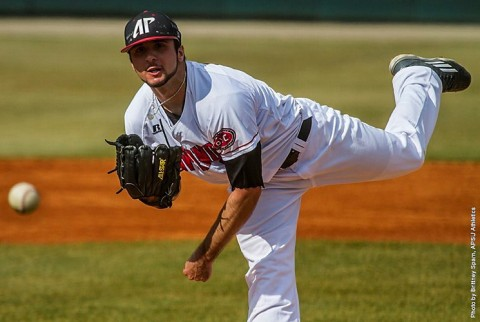 Austin Peay Baseball gets 8-4 victory over Bradley Saturday at Raymond C. Hand Park. (APSU Sports Information)