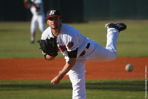 Austin Peay Baseball rolls past Alcorn State Friday, 12-0. (APSU Sports Information)