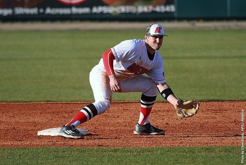 Austin Peay Baseball falters against Connecticut, Saturday. (APSU Sports Information)