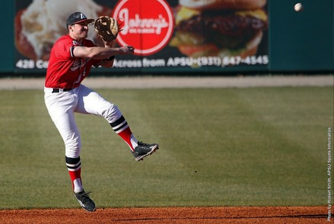 Austin Peay Baseball loses to No. 12 Missouri State in final game of Riverview Inn Governors Challenge at Raymond C. Hand Park, Sunday. (APSU Sports Information)