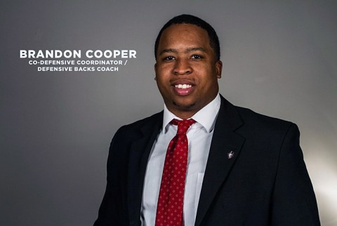 Austin Peay Football Co-Defensive Coordinator and Defensive Backs Coach Brandon Cooper. (APSU Sports Information)