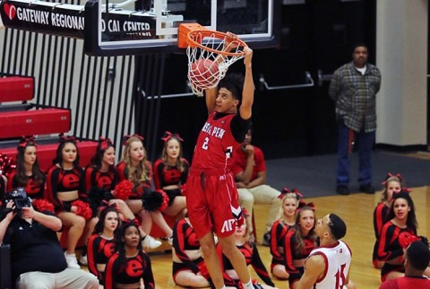 Austin Peay's Jared Savage scored 11 points against SIUE in his first college start. (Athlete's Eye)
