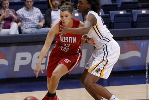 Austin Peay Women's Basketball loses to Murray State Saturday night at the CFSB Center. (APSU Sports Information)