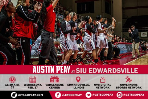 Austin Peay Women's Basketball travels to SIU Edwardsville Wednesday for late morning game. (APSU Sports Information)