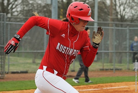Austin Peay Softball gets 8-6 win over Western Kentucky at the Hilltopper Classic Friday. (APSU Sports Information)
