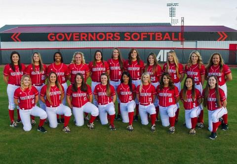 Austin Peay State University Lady Govs Softball Team. (APSU Sports Information)