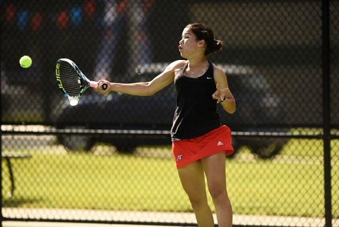 Austin Peay Women's Tennis loses to Lipscomb Bisons 4-2 Friday. (APSU Sports Information)
