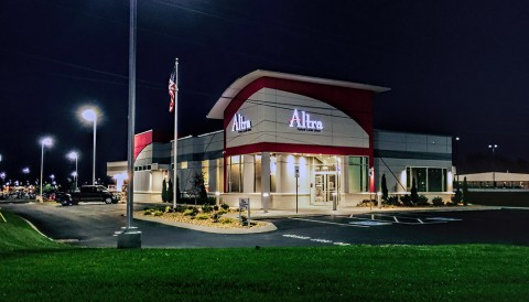 Altra Federal Credit Union at Wilma Rudolph Boulevard.