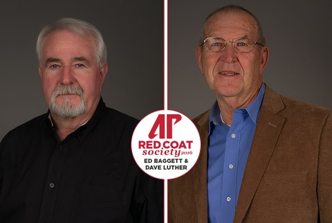 Dave Luther, Ed Baggett to be inducted into APSU Red Coat Society, Saturday. (APSU Sports Information)