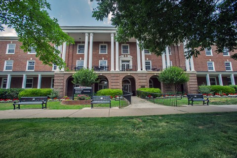 Austin Peay State University's Harned Building. (APSU)