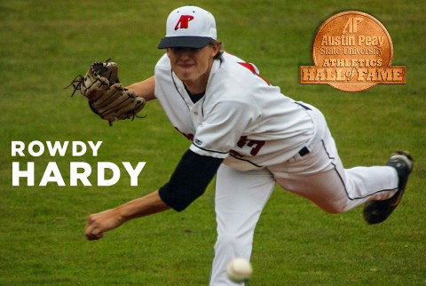 Rowdy Hardy to be inducted into Austin Peay Hall of Fame. (APSU Sports Information)