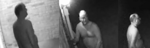 Man in these photos that was attempting to break into homes has been identified by Clarksville Police.