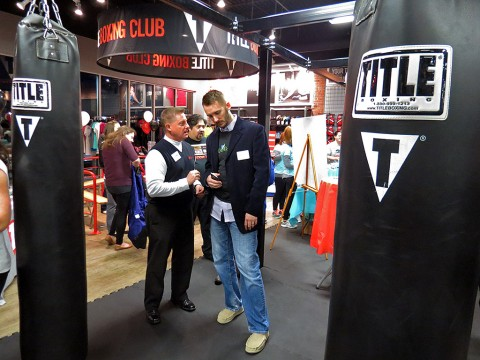 Clarksville's Title Boxing's holds Grand Re-Opening