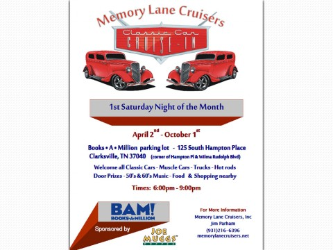 Memory Lane Cruiser's - Cruise Night