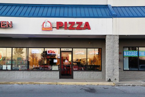 Michael's Pizza & More's new location at 2764C Wilma Rudolph Boulevard.