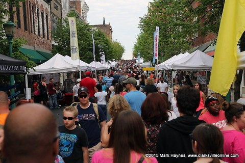Clarksville's Rivers and Spires Festival.