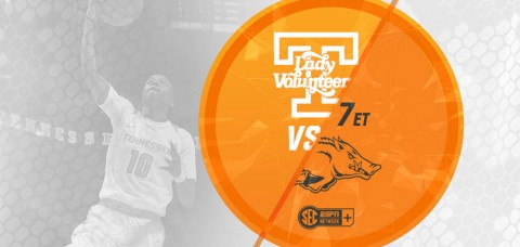 Tennessee Women's Basketball set to play Arkansas at Thompson-Boling Arena Thursday night. (UT Athletics Department)