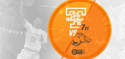 Tennessee Women's Basketball set to play Arkansas at Thompson-Boling Arena Thursday night. (UT Athletics Department)